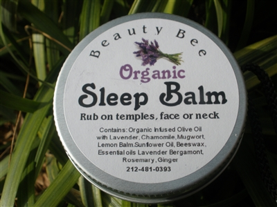 Sleep Balm by Beauty Bee
