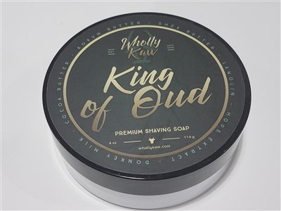Wholly Kaw King of of Oud Shave Soap