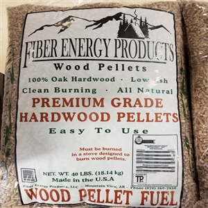 Fiber Energy Products Premium Grade Hardwood Pellets
