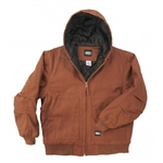 Key Apparel Men's Insulated Hooded Duck Jacket