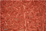 Bulk Red Dyed Mulch