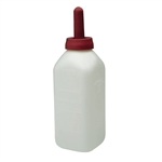 Miller Mfg 9812 Little Giant 2 Qt Calf Bottle With Nipple