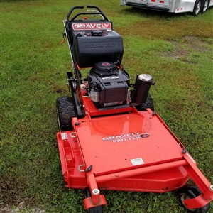 "Gravley Walk-Behind Commercial 36"" Mower"