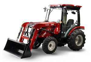 2019 TYM T394C 37.4 HP VALUE CAB COMPACT TRACTOR WITH LOADER