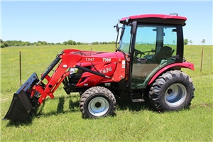 TYM T474C 48.3 HP VALUE COMPACT TRACTOR WITH LOADER