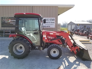 TYM T474HC 48.3 HP VALUE COMPACT TRACTOR WITH LOADER