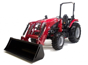 TYM T554 55.1 HP COMPACT TRACTOR WITH LOADER