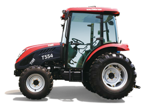 TYM T554HC 55.1 HP COMPACT TRACTOR WITH LOADER