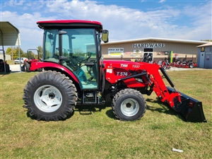 TYM T574C 55 HP VALUE COMPACT TRACTOR WITH LOADER