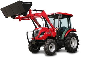 TYM T574HC 55 HP VALUE COMPACT TRACTOR WITH LOADER