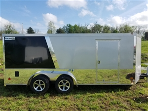 Haulmark Low Hauler 7x6 Enclosed Cargo Motorcycle Trailer