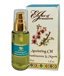 Frankincense & Myrrh - Anointing Oil 30 ml. - 1 fl.oz.