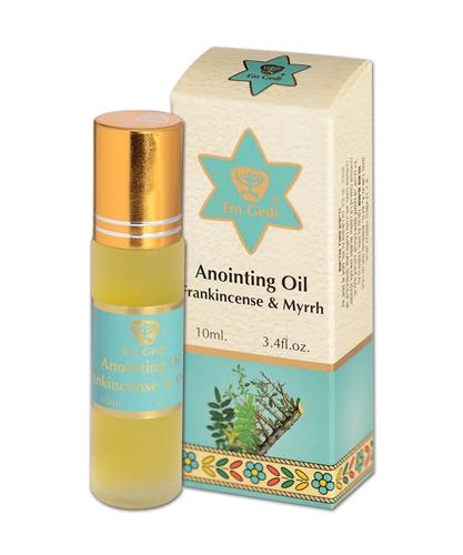Frankincense & Myrrh Anointing Oil 10ml In Roll-On Bottle