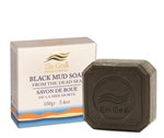 Dead Sea black mud soap 100 gr. - 3.5 oz.