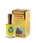 Cedar of Lebanon - Gold line Anointing Oil 12 ml.
