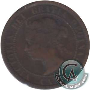 1888 Canada 1-cent G-VG (G-6)