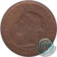1899 Canada 1-cent Uncirculated (MS-60) $