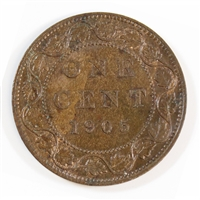 1905 Canada 1-cent Uncirculated (MS-60)