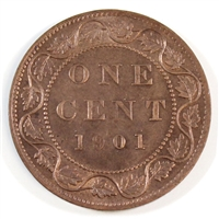 1901 Canada 1-cent Brilliant Uncirculated (MS-63) $
