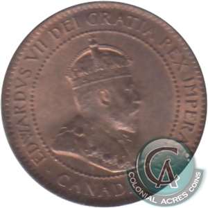 1902 Canada 1-cent Brilliant Uncirculated (MS-63) $