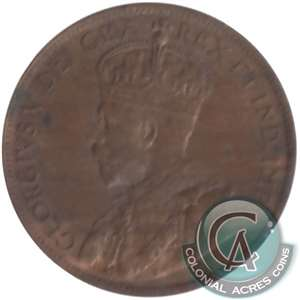 1914 Canada 1-cent Almost Uncirculated (AU-50)