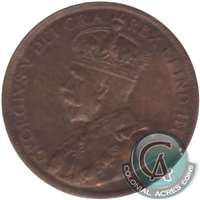 1913 Canada 1-cent Uncirculated (MS-60)