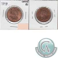 1919 Canada 1-cent Choice Brilliant Uncirculated (MS-64) $