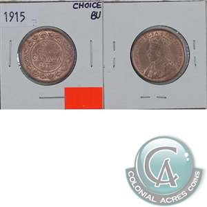 1915 Canada 1-cent Choice Brilliant Uncirculated (MS-64) $