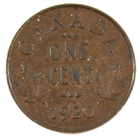 1920 Canada Small 1-cent Extra Fine (EF-40)
