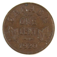 1920 Canada Small 1-cent Almost Uncirculated (AU-50)