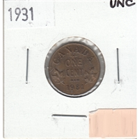 1931 Canada 1-cent Uncirculated (MS-60)