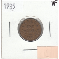 1935 Canada 1-cent Very Fine (VF-20)