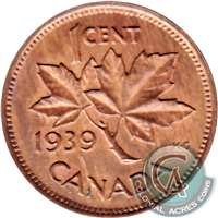 1939 Canada 1-cent Choice Brilliant Uncirculated (MS-64)