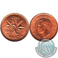 1940 Canada 1-cent Choice Brilliant Uncirculated (MS-64)