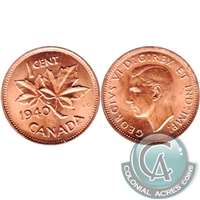 1940 Canada 1-cent Brilliant Uncirculated (MS-63)