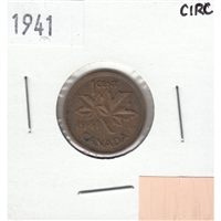 1941 Canada 1-cent Circulated
