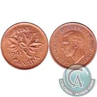 1941 Canada 1-cent Brilliant Uncirculated (MS-63) $