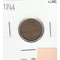 1944 Canada 1-cent Circulated