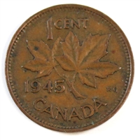 1945 Canada 1-cent Circulated
