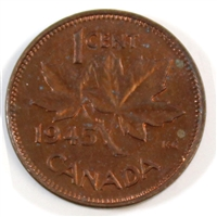 1945 Canada 1-cent Uncirculated (MS-60)