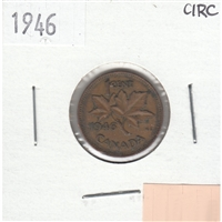 1946 Canada 1-cent Circulated