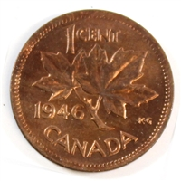1946 Canada 1-cent Brilliant Uncirculated (MS-63)