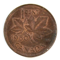 1950 Canada 1-cent Almost Uncirculated (AU-50)