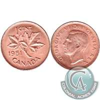 1951 Canada 1-cent Brilliant Uncirculated (MS-63)