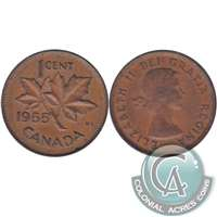 1955 Canada 1-cent Circulated