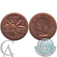 1956 Canada 1-cent Brilliant Uncirculated (MS-63)