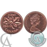 1969 Canada 1-cent Proof Like
