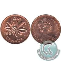 1969 Canada 1-cent Brilliant Uncirculated (MS-63)