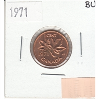 1971 Canada 1-cent Brilliant Uncirculated (MS-63)