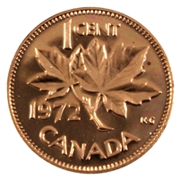 1972 Canada 1-cent Proof Like